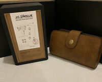 """J.C And Rollie """"Guys Night Kit"""" And """"Bullet Flasks""""With Case. New"""
