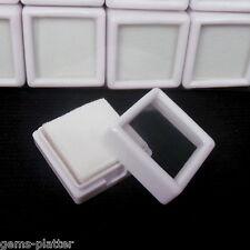 20 Pcs 3x3cm Wholesale Gem Display Show Case Storage for Gemstones/Diamond BEST$