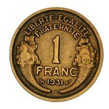 FRANCIA 1 Franc Morlon 1931