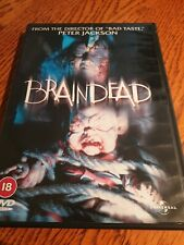 BRAINDEAD DVD RARE ZOMBIE COMEDY HORROR RATED 18