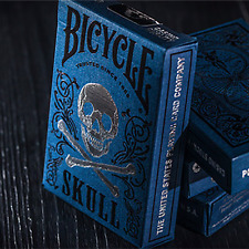 Bicycle Luxury Skull Playing Cards by BOCOPO Playing Card Company and Murphy's M