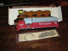 HO Scale Railroad Mantua Tyco Burlington 5628 Diesel Locomotive Engine,