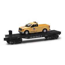 Railroad Train Flatcar  O Gauge Union Pacific F150 Maintenance Truck Limited Ed