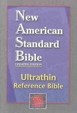 Ultrathin Reference Bible-nasb by Lockman Foundation Leather Bound Book