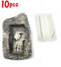 10xArtificial Stone Fake Realistic Rock Key Safe Hider Practical Hide A Key Rock