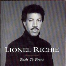 Lionel Richie : Back to Front CD (1999) ***NEW***