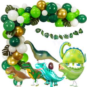 Green Dinosaur Theme Series Balloon Set Children's Birthday Party Decoration-New
