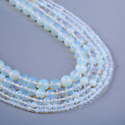"""Opal Stone Beads Smooth Round Stone Beads Craft Supplies 15"""" Full Strand 103099"""