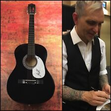 GFA Everclear Lead Singer * ART ALEXAKIS * Signed Acoustic Guitar PROOF A2 COA