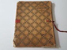 Album broderie au point de croix par Th. de Dillmont vers 1900