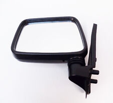 Isuzu Pickup TFS54 2.5 Door/Wing Mirror Black Manual L/H N/S (1996-2003) NEW