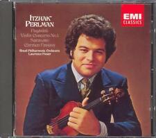 PAGANINI - Violin Concerto 1 / SARASATE - Carmen Fantasy - Itzhak PERLMAN - EMI