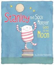 Stanley the Sock Monster Goes to the Moon-ExLibrary