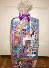 MY LITTLE PONY EASTER HOLIDAY GIFT SET RAINBOW DASH PLUSH + BOOK + ART SUPPLIES
