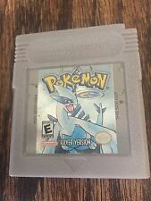 Pokemon Silver Game Boy Color - Game Version