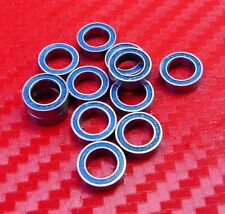 25pcs 687-2RS (7x14x5 mm) Chrome Metal Rubber Sealed Ball Bearings BLUE 7*14*5