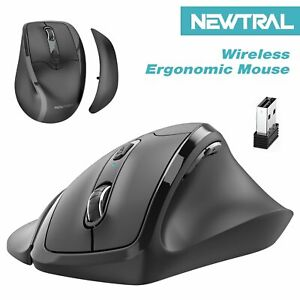 Wireless Ergonomic Vertical Mouse Right Hand Office Gaming  Removable Palm Wrist