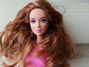 FAshionistas Barbie doll Auburn hair