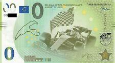 MEMOEURO Schein Belgien GP SPA 138/2 memo euro schein