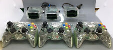 3 Intec Clear Green G8085-B Wireless Microsoft Xbox Controllers With Receivers
