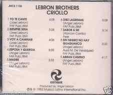 RARE cd FANIA Lebron Brothers CRIOLLO sin negro no hay guaguanco DIEZ LAGRIMAS