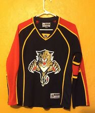 FLORIDA PANTHERS VINTAGE REPLICA WOMEN'S MEDIUM JERSEY REEBOK
