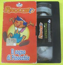 VHS film IL SOGNO DI PINOCCHIO 2002 MONDO PA5 (F107) no dvd