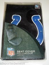 NFL NIB CAR SEAT COVER BY FREMONT DIE - INDIANAPOLIS COLTS