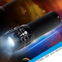 Multi Functional LED Flashlight Bright Surefire Flashlight Zoomable Torch