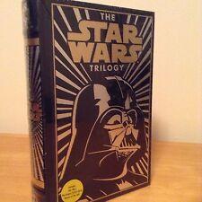 STAR WARS TRILOGY LEATHER BOUND HARDBACK BOOK