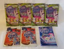 My Little Pony Collectible Trading Card - Lot of 7 - Factory Sealed