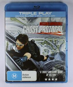 Mission Impossible Ghost Protocol Blu Ray FREE POST