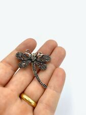 Beautiful Dragonfly brooch with marcasites!