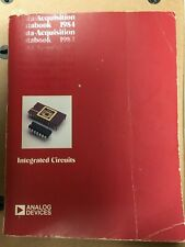 Vintage Analog Devices 1984 Data Acquisition Databook Set Vol 1, Vol 2