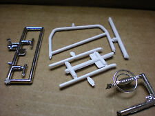 1967 1968 Ford Mustang GT Cobra 1/25 Chrome steering wheel roll cage exhaust tip