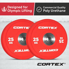 Cortex Competition 25kg Bumper Plate Powerlifting compound lifts