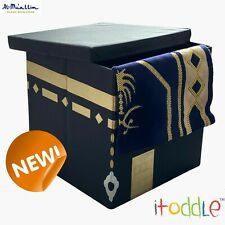 More details for itoddle my kaaba prayer mat storage box makkah - islamic toy box childrens gift