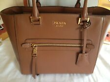 NWT PRADA Glace Calf Leather Tote Bag 1BG227 RRP €1450