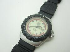 Vintage TAG HEUER Formula 1 Date Beige Dial Quartz Ladies Watch - Parts Only