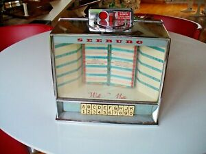 Classic Seeburg Wall O Matic Juke Box Wall Box