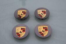 Porsche Wheel centre caps 911 981 718 Boxster Cayman Cayenne Panamera X4 Grey