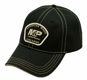 M&P by SMITH & WESSON *BLACK TWILL* AMERICAN MADE LOGO HAT CAP *NEW* MP33