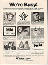 Hilarious House Of Frightenstein/Leonard Nimoy-The Coral Jungle 1976 Ad- Group W