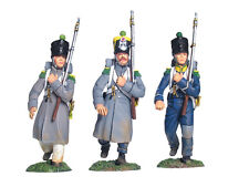 W Britain Napoleonic 17973 French Light Infantry Voltigeurs March Attack Set 1