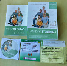 More details for family historian 4 deluxe genealogy family tree cd software windows 7, vista etc