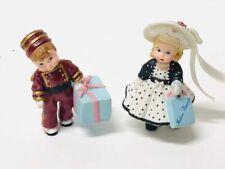 Hallmark Merry Miniature Madame Alexander Alex The Bellhop Park Ave Wendy