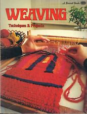 Vintage Weaving Techniques & Projects Patterns 14 Projects By Sunset Book