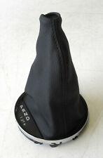 Genuine Used MINI (Chrome) Automatic Gear Gaiter Black Leather for R56 R55 R57