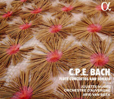 Carl Philipp Emanuel Bach : C.P.E. Bach: Flute Concertos and Sonata CD (2018)