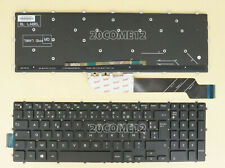 New for DELL Latitude 3500 3590 Keyboard Backlit French Clavier Azerty